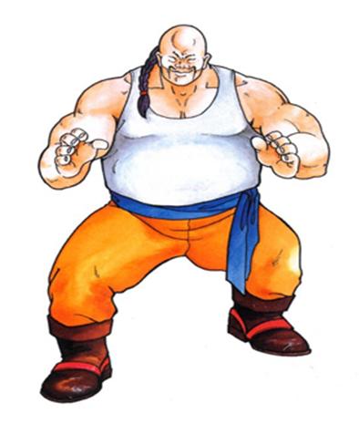 (용호의권2 또 다른 악명높은 캐릭터 '테무진')